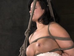 Breast bondage sub...