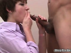 Office chick gets fucked...